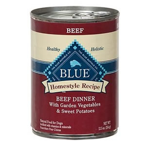 BLUE Buffalo Beef Dinner with Vegetables Can Dog Food