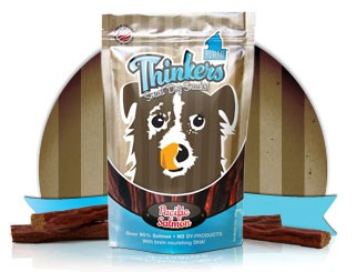Thinkers Dog Treats - 10 oz bag